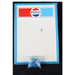 Pepsi Menu Board & Letters/ Numbers