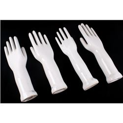 1979 General Porcelain Hand Molds