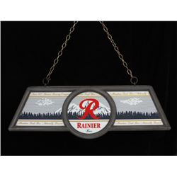 Rainier Beer Billiards Table Fluorescent Light