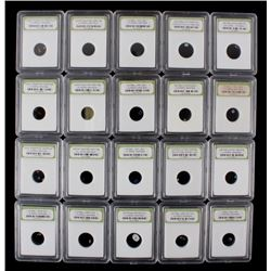 International Numismatic Bureau Slabbed Gemstones