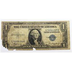 1935 A $1 SILVER CERTIFICATE