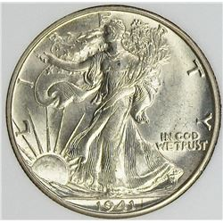 1941-D WALKING LIBERTY HALF DOLLAR