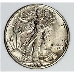 1939 WALKING LIBERTY HALF DOLLAR