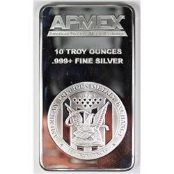 10 OUNCES .999 SILVER BAR