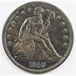 1849 SEATED DOLLAR