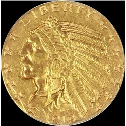 1913-S $5.00 GOLD