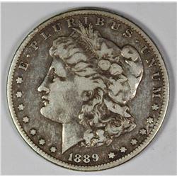 1889-CC MORAGN SILVER DOLLAR