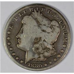 1880-CC MORGAN SILVER DOLLAR