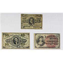 FR 1238, FR 1255, AND FR 1259 FRACTIONAL CURRENCY
