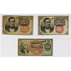 FR 1265, FR 1266, AND FR 1303 FRACTIONAL CURRENCY