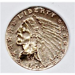 1909 $2.50 GOLD INDIAN