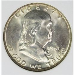 1951-D FRANKLIN HALF DOLLAR