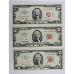 (3) 1963 STAR NOTES