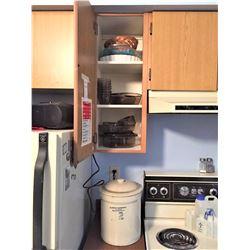 Kitchen Glass Storage & More A