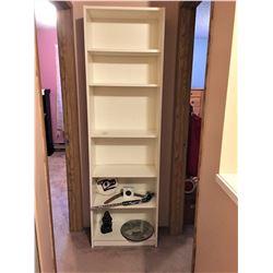 White Ikea Style Bookshelf B