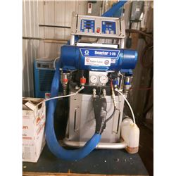 Graco Reactor E-20 (used 25 hours)#AP9025 with 1 gun and 2 hoses