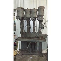 Herbert Quadruple Geared Drill Press