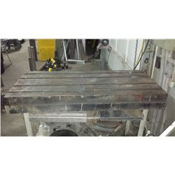 """Slotted Work Table 24"""" x 52"""""""