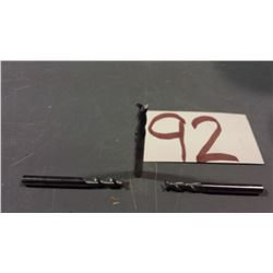 """Solid Carbide End Mill 1/4"""" 2fl."""