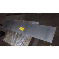 """Aluminum Plate 56"""" x 11"""" x 1/8"""""""