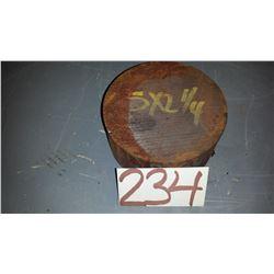 "Steel Rod 5""x 2""1/4"