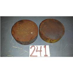 Steel Plate 4 5/8 x 1 1/2