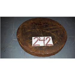 """Steel Plate 9""""5/8 x 1""""1/16"""