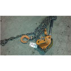 Chain block 1-1/2 Ton