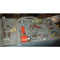 Air Tool Kit with Orbital sander & Spray Gun