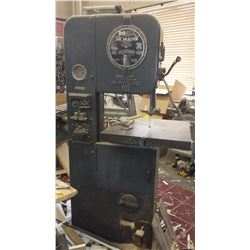 DoAll Verical BandSaw with integrated blade Welder