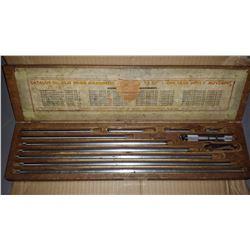 "Starrett No.823E Inside Tubular Micrometer 4"" to 40"""