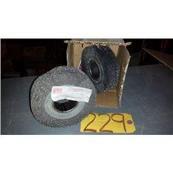 "Wire Wheel Brush 5"" x 2"""
