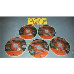 "Rex-Cut Grinding Wheel 4""1/2 for Stainless/Aluminum"