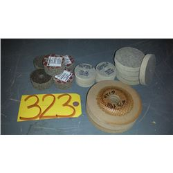 Lot of Assorted Stainless Buffing Disc