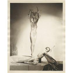 Exotic Vaudeville dancers Grisha and Brona (7) photographs.