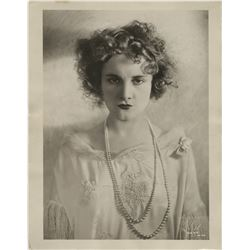 Striking Hollywood portraits (10) oversize photographs including Jeanne Eagels and Henry Miller.
