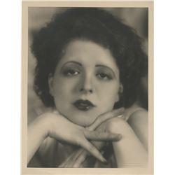 Clara Bow oversize photograph by Eugene Robert Richee.