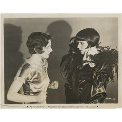 Louise Brooks portrait photograph with Jean Arthur in The Canary Murder Case.