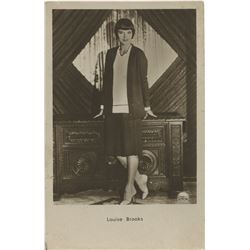 Louise Brooks (5) silent-era real photo postcards.