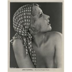 Joan Blondell (5) exceptional Pre-Code photographs.
