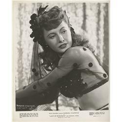 Barbara Stanwyck (10) portrait and scene photographs.