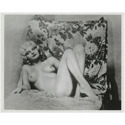 Jean Harlow (90+) restrike photographs.