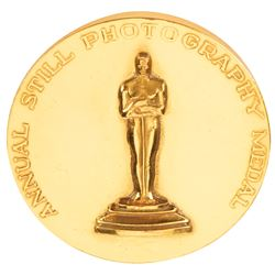 Clarence Sinclair Bull 1942 Academy of Motion Picture Arts & Sciences Annual Still Photography medal