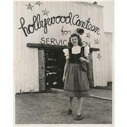 Rita Hayworth (10) special WWII publicity photographs plus (1) negative.