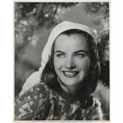 Ella Raines (4) oversize photographs.