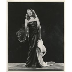 Rita Hayworth (5) photographs from Gilda in the black satin gown.