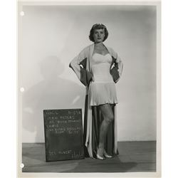 Love That Brute partial wardrobe bible of designer Rene Hubert with (20) costume test photographs.
