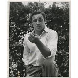 Marlon Brando (13) photographs including early portraits.