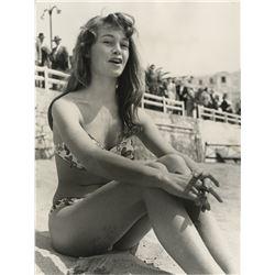 Brigitte Bardot (8) photographs including early candids.