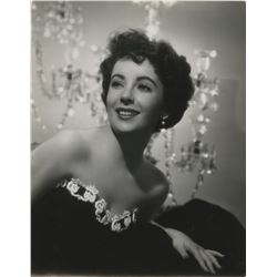 Elizabeth Taylor (4) oversize portrait photographs from A Place in the Sun.